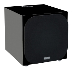 MONITOR AUDIO SILVER W-12 High Gloss Black aktīvais subvufers (cena par gab.)