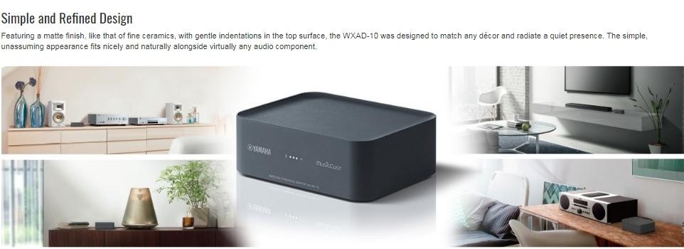 YAMAHA WXAD-10 Wireless Streaming Adapter